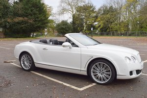 Picture of 2011/11 Bentley GTC Speed in Glacier White For Sale