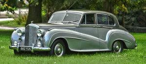 Picture of 1951 Bentley Mark 6 H.J. Mulliner 'Lightweight' Saloon For Sale