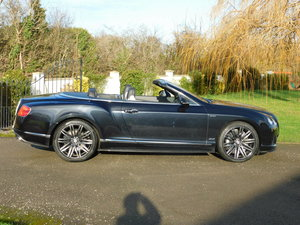 BENTLEY GTC SPEED CARBON FIBRE SKIRTS, 2014 MODEL YEAR