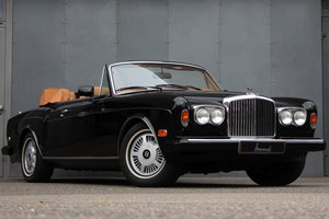 Picture of 1990 Bentley Continental Convertible LHD For Sale