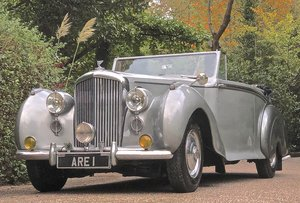 Picture of 1949 Bentley MkVI Park Ward Convertible DHC For Sale