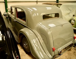 Picture of 1936 Derby Bentley 4.25 Litre Vanden Plas Pillarless Saloon For Sale