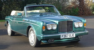 Picture of 1989 Bentley Continental Convertible For Sale