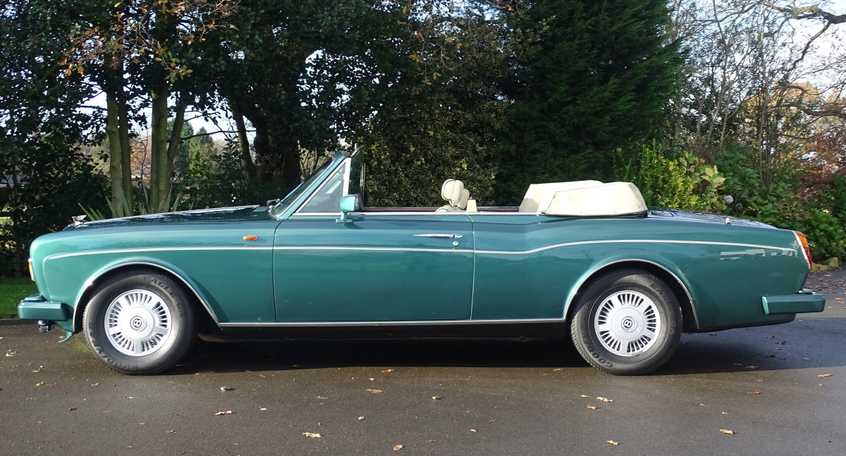 1989 Bentley Continental Convertible For Sale (picture 3 of 12)