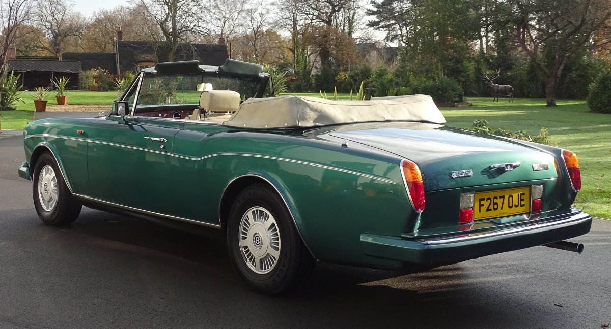 1989 Bentley Continental Convertible For Sale (picture 4 of 12)