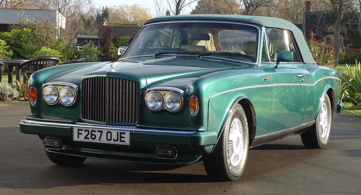 1989 Bentley Continental Convertible For Sale (picture 5 of 12)