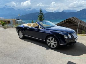 Bentley GTC continental convertible