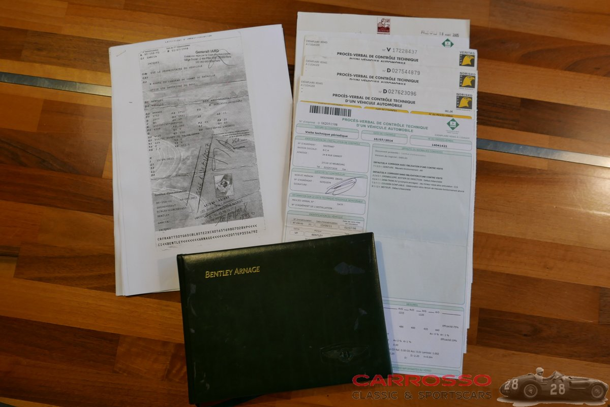 1998 Bentley Arnage in popular Green Label version For Sale (picture 6 of 12)