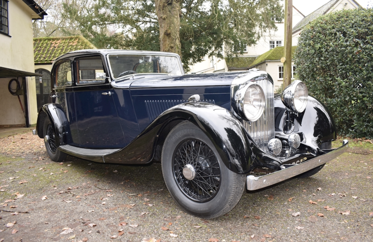 1935 Bentley Derby Parkward Sports Saloon For Sale For Sale (picture 1 of 8)