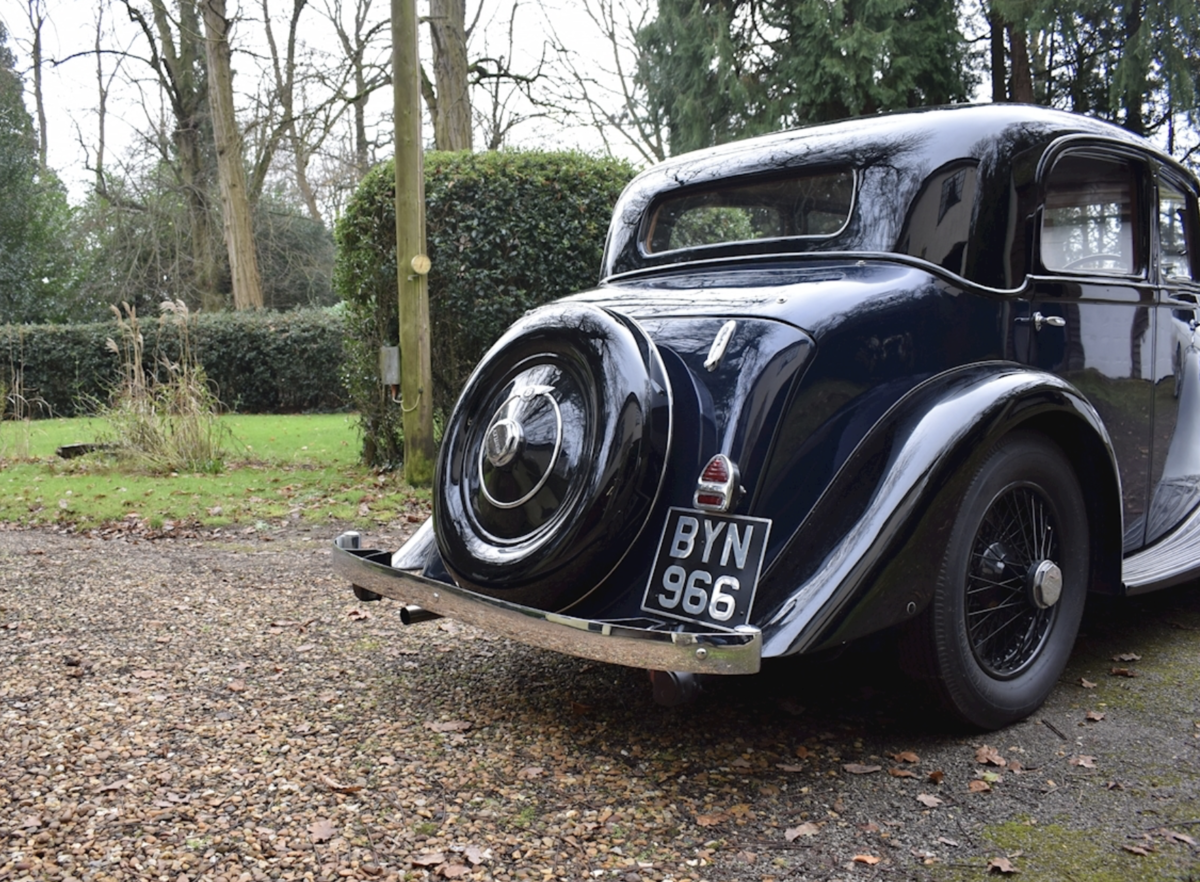 1935 Bentley Derby Parkward Sports Saloon For Sale For Sale (picture 2 of 8)