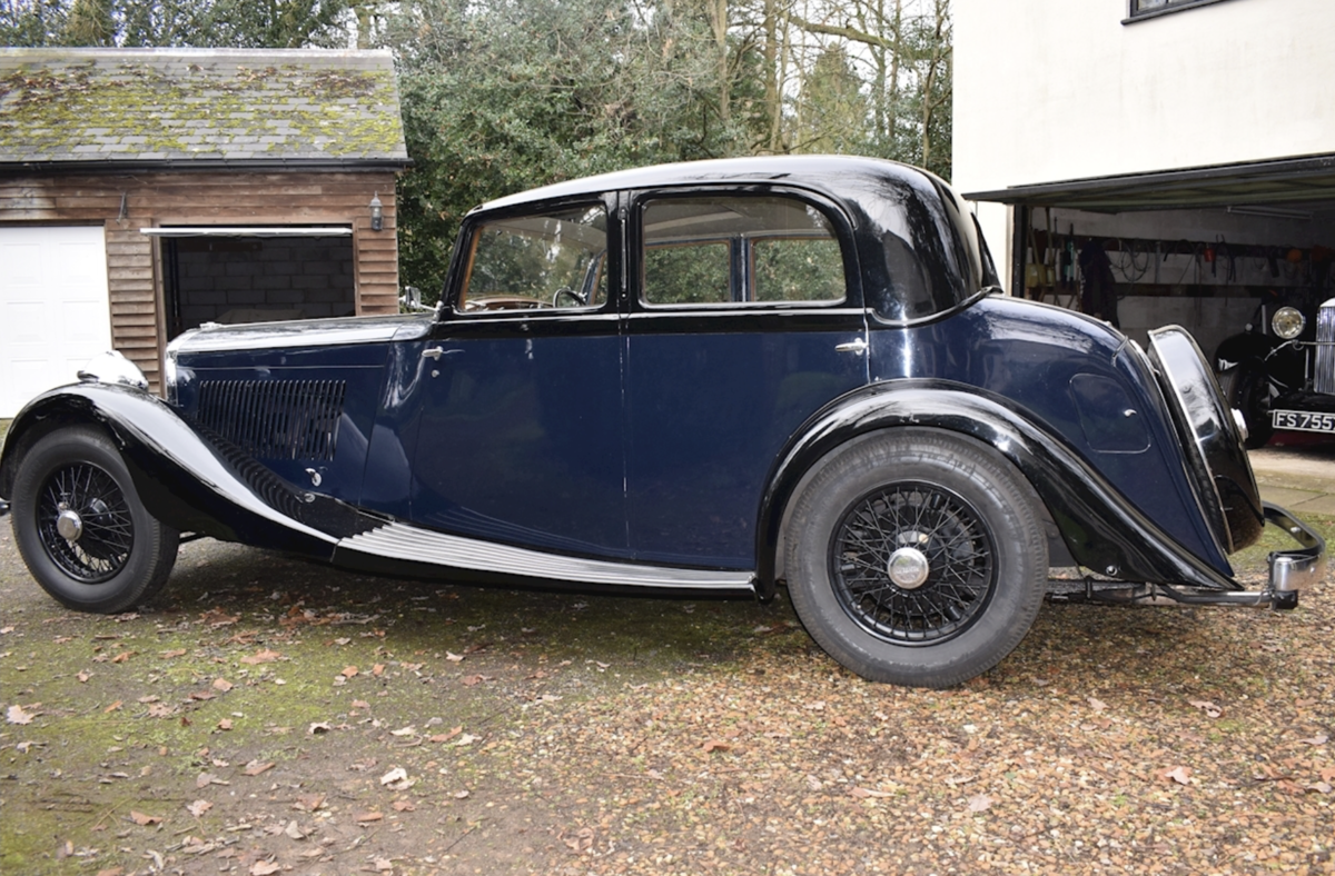 1935 Bentley Derby Parkward Sports Saloon For Sale For Sale (picture 3 of 8)