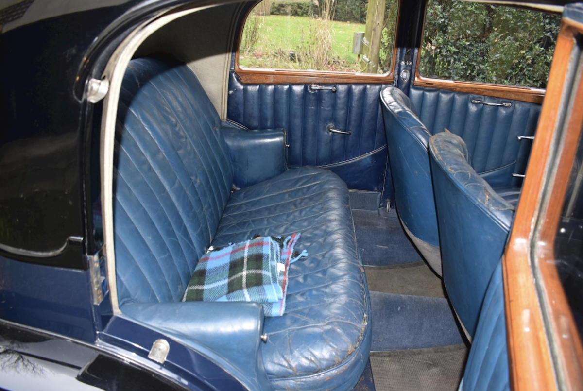 1935 Bentley Derby Parkward Sports Saloon For Sale For Sale (picture 6 of 8)