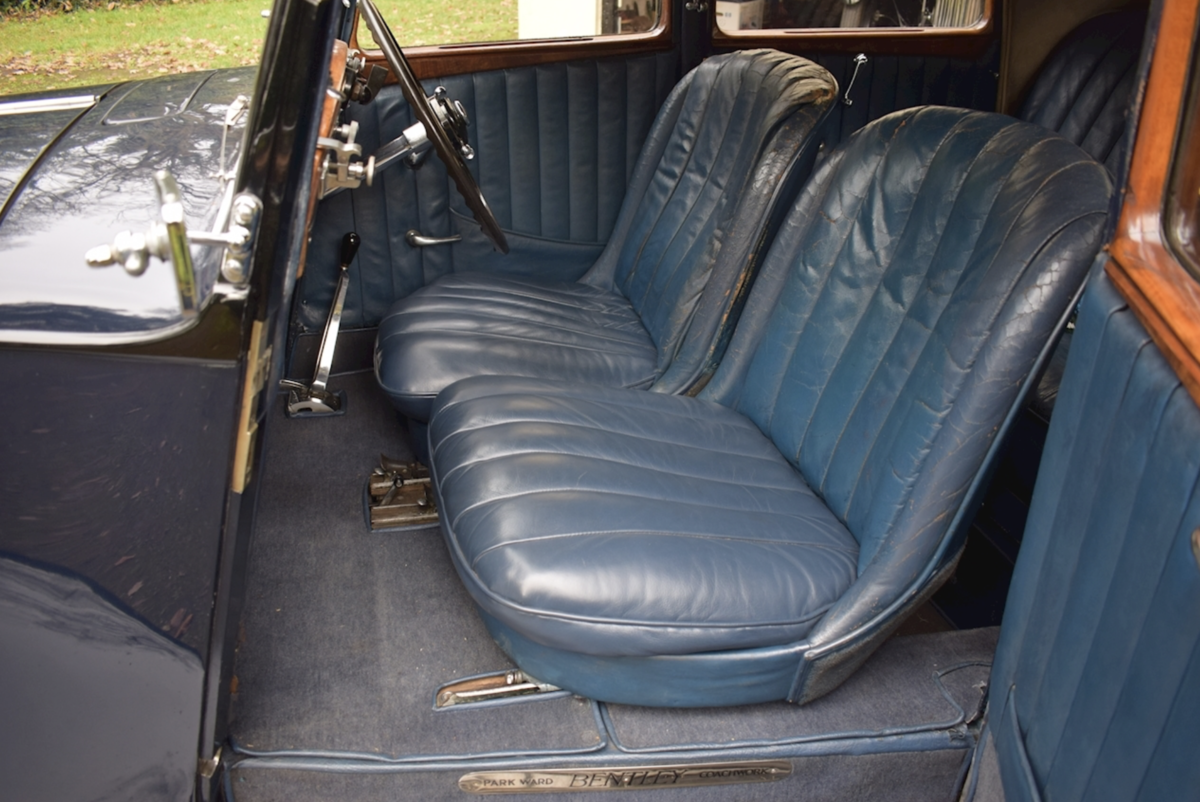 1935 Bentley Derby Parkward Sports Saloon For Sale For Sale (picture 7 of 8)