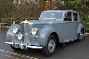 Picture of 1950 Bentley Mk VI Manual Sports Saloon For Sale by Auction