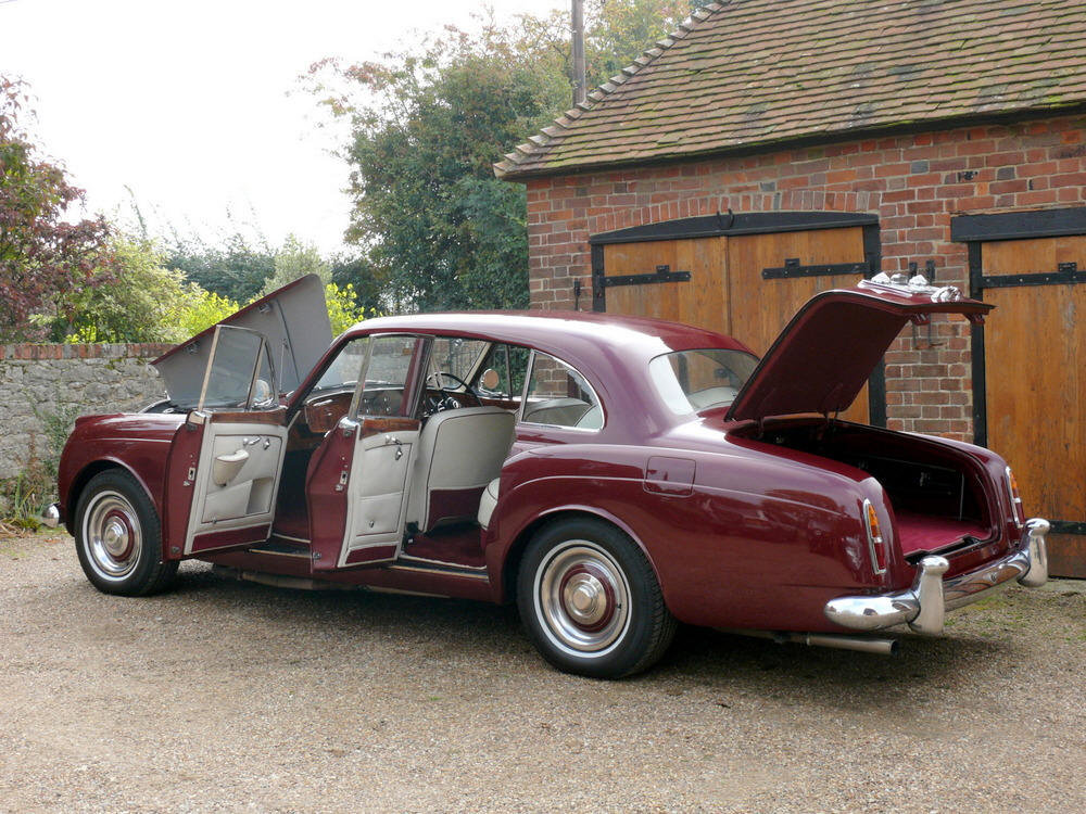 1961 Bentley S2 Continental Flying Spur by H.J Mulliner For Sale (picture 10 of 12)