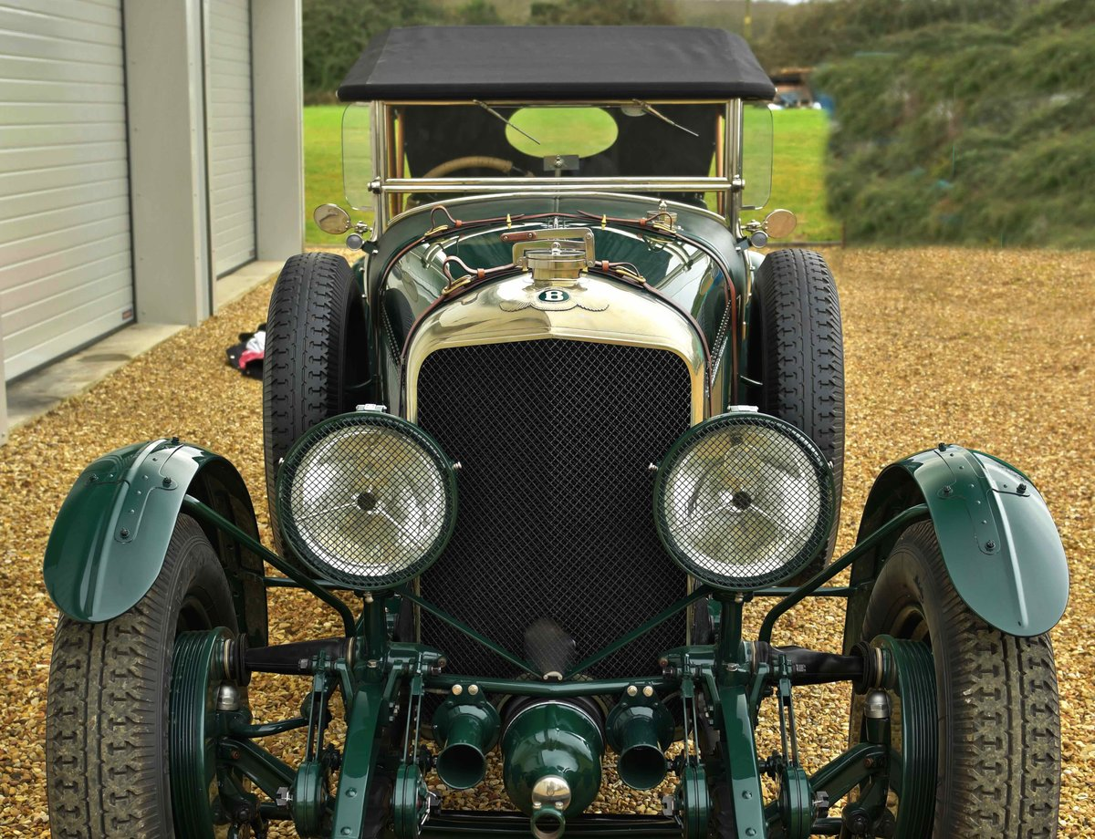 1928 BENTLEY SIX & A HALF LITRE For Sale (picture 1 of 12)