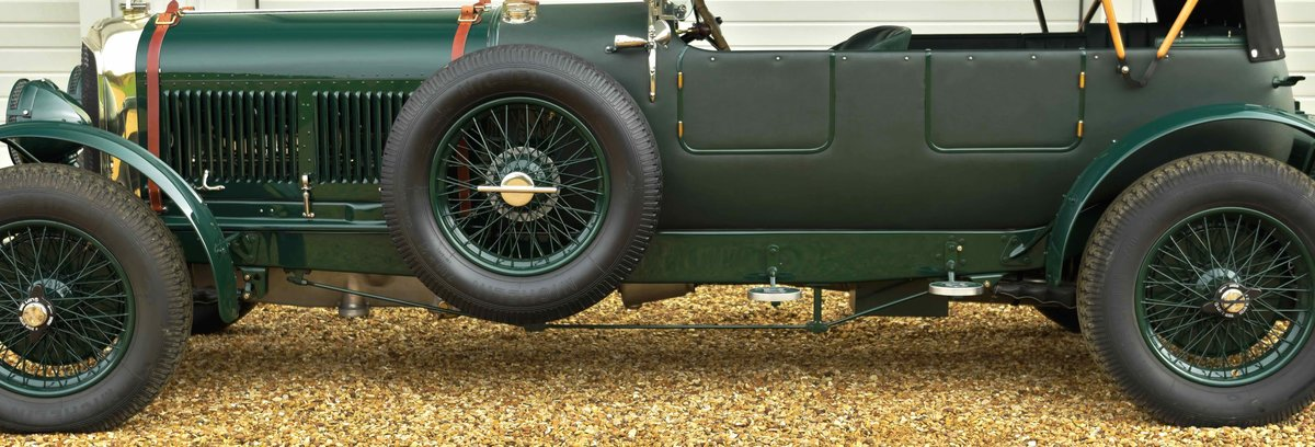 1928 BENTLEY SIX & A HALF LITRE For Sale (picture 5 of 12)