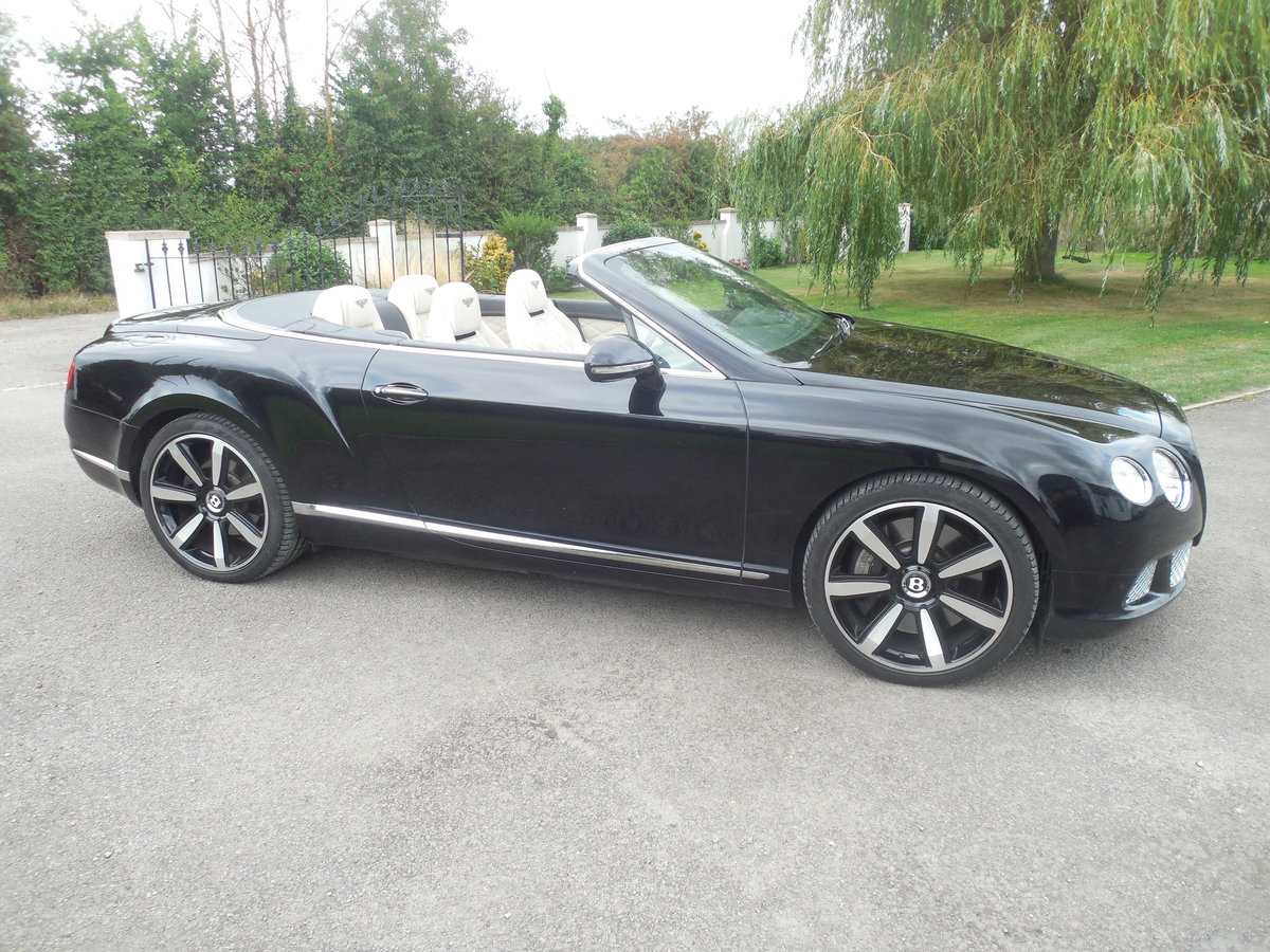 2012 BENTLEY GTC MULINER CONVERTIBLE For Sale (picture 1 of 15)