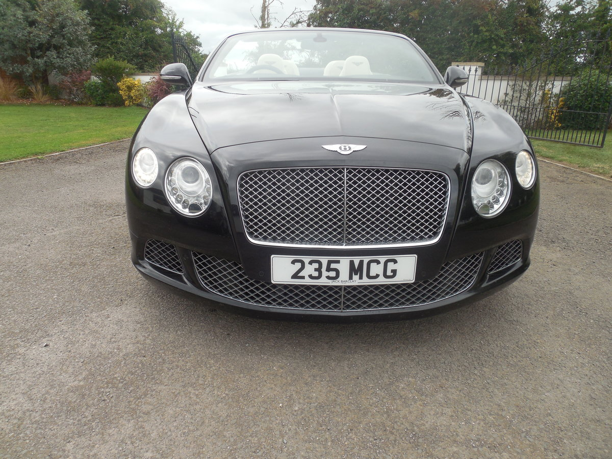 2012 BENTLEY GTC MULINER CONVERTIBLE For Sale (picture 2 of 15)