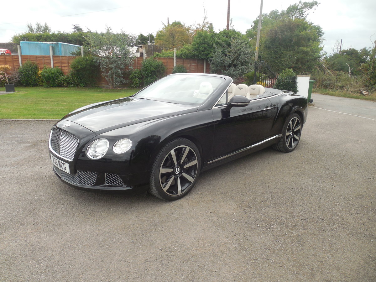 2012 BENTLEY GTC MULINER CONVERTIBLE For Sale (picture 3 of 15)