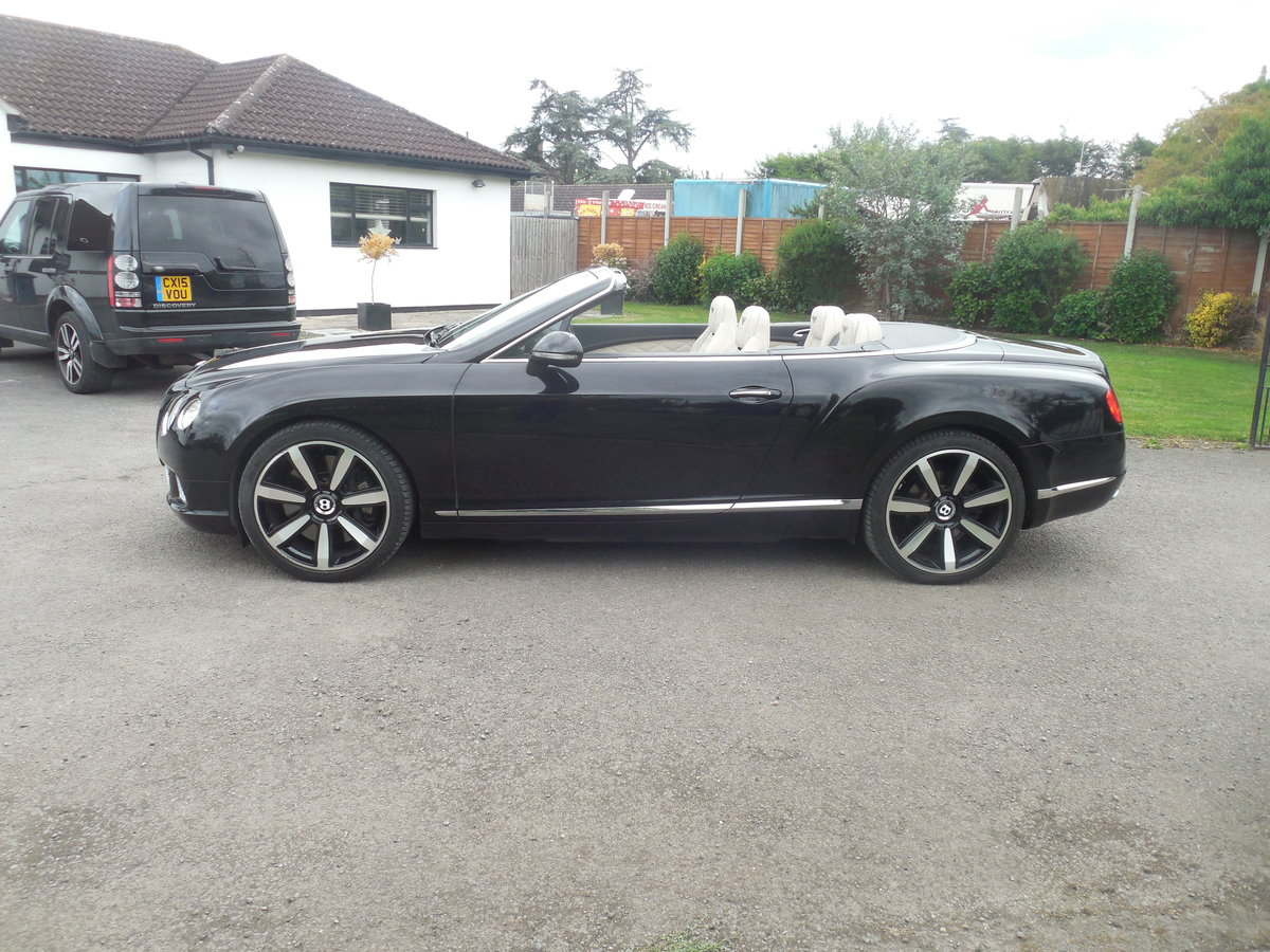 2012 BENTLEY GTC MULINER CONVERTIBLE For Sale (picture 4 of 15)