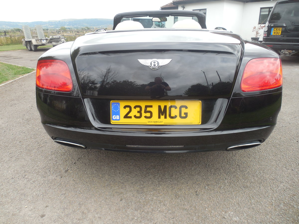 2012 BENTLEY GTC MULINER CONVERTIBLE For Sale (picture 5 of 15)