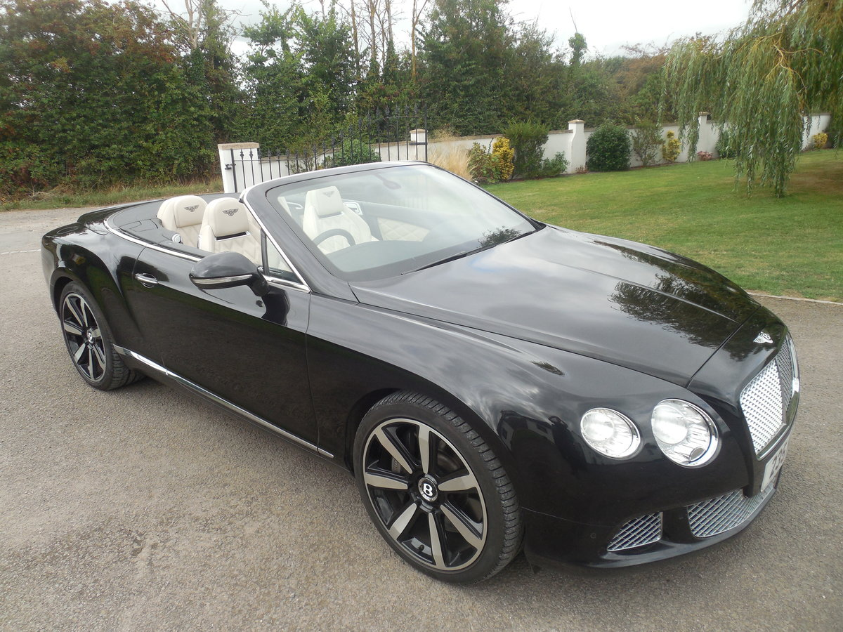 2012 BENTLEY GTC MULINER CONVERTIBLE For Sale (picture 7 of 15)