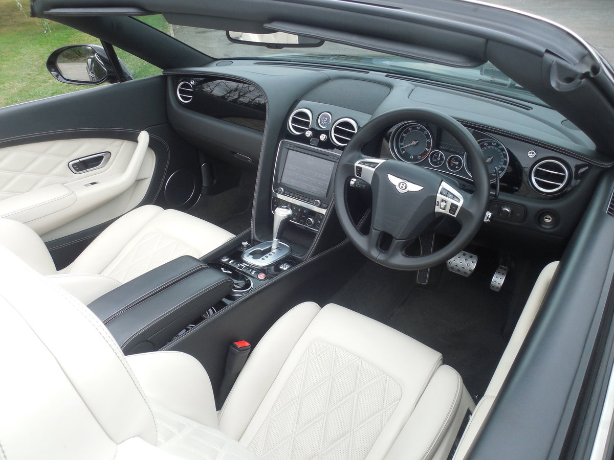 2012 BENTLEY GTC MULINER CONVERTIBLE For Sale (picture 8 of 15)