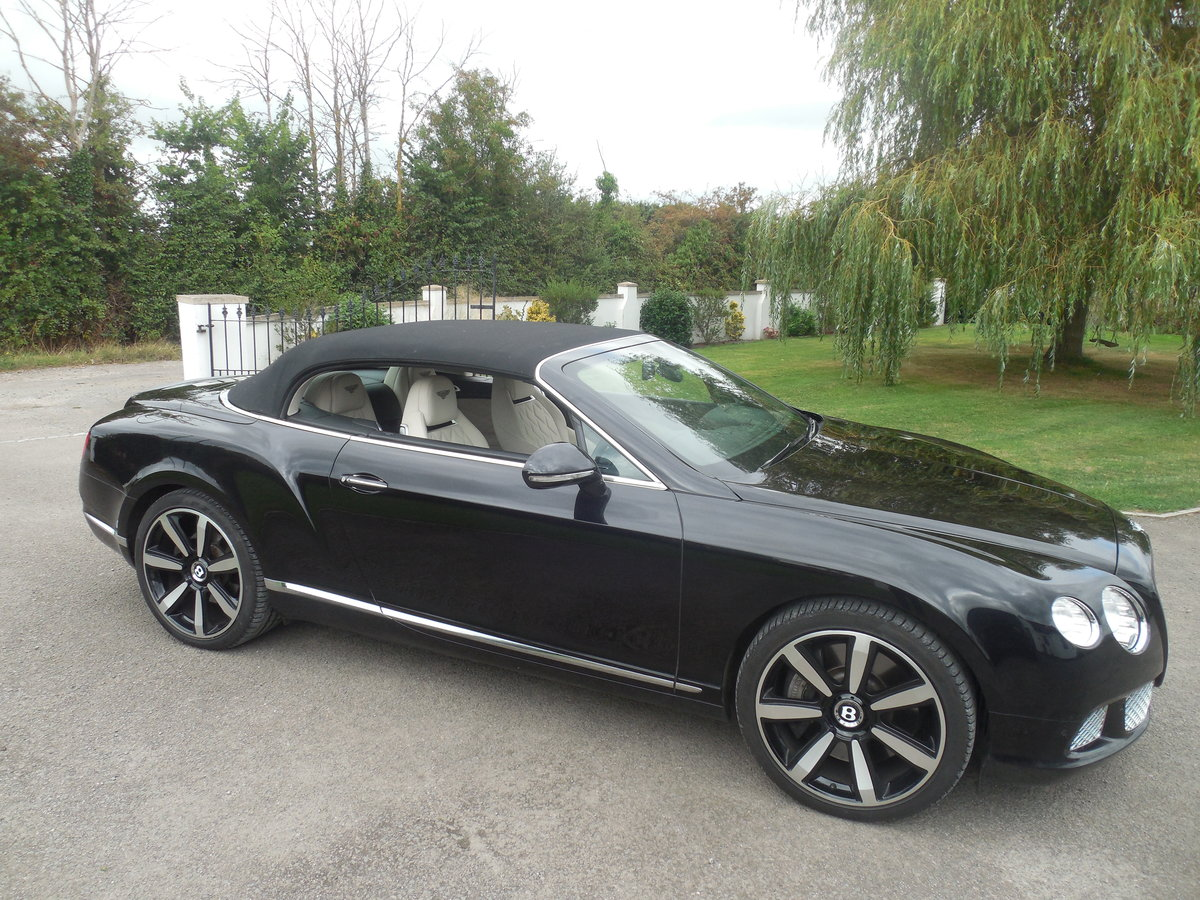 2012 BENTLEY GTC MULINER CONVERTIBLE For Sale (picture 15 of 15)