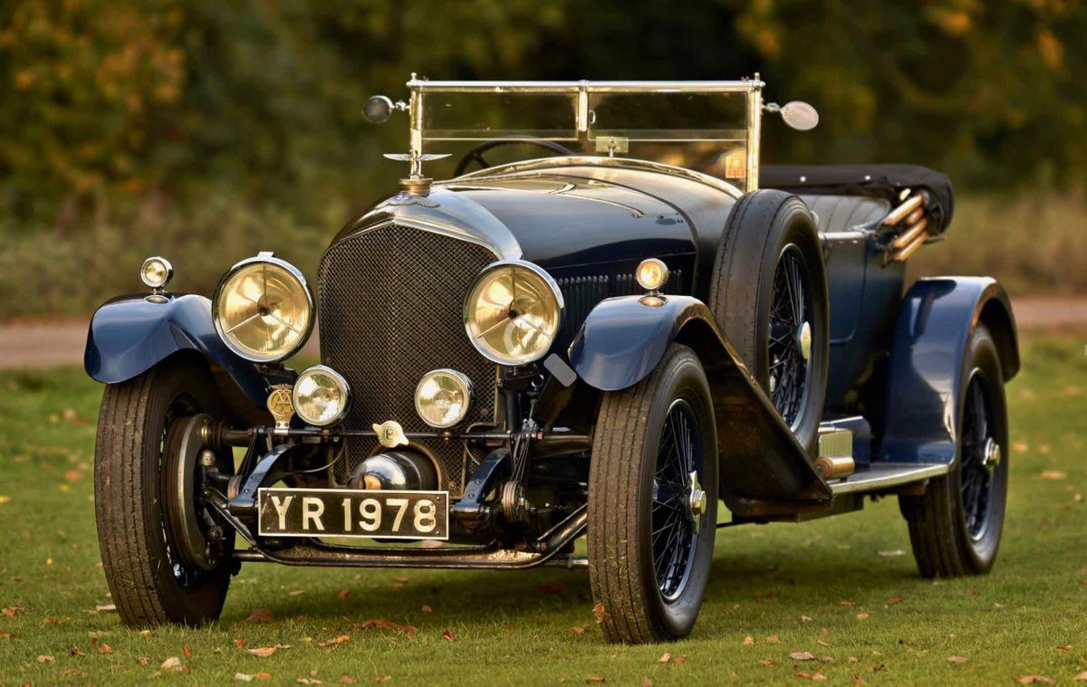 1926 Bentley 6 1/2 Litre Tourer. For Sale (picture 1 of 12)