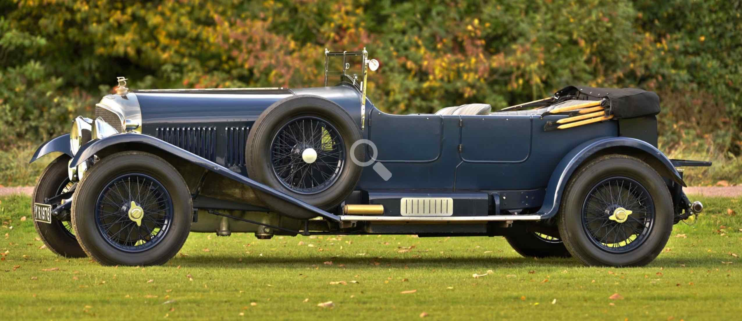 1926 Bentley 6 1/2 Litre Tourer. For Sale (picture 4 of 12)