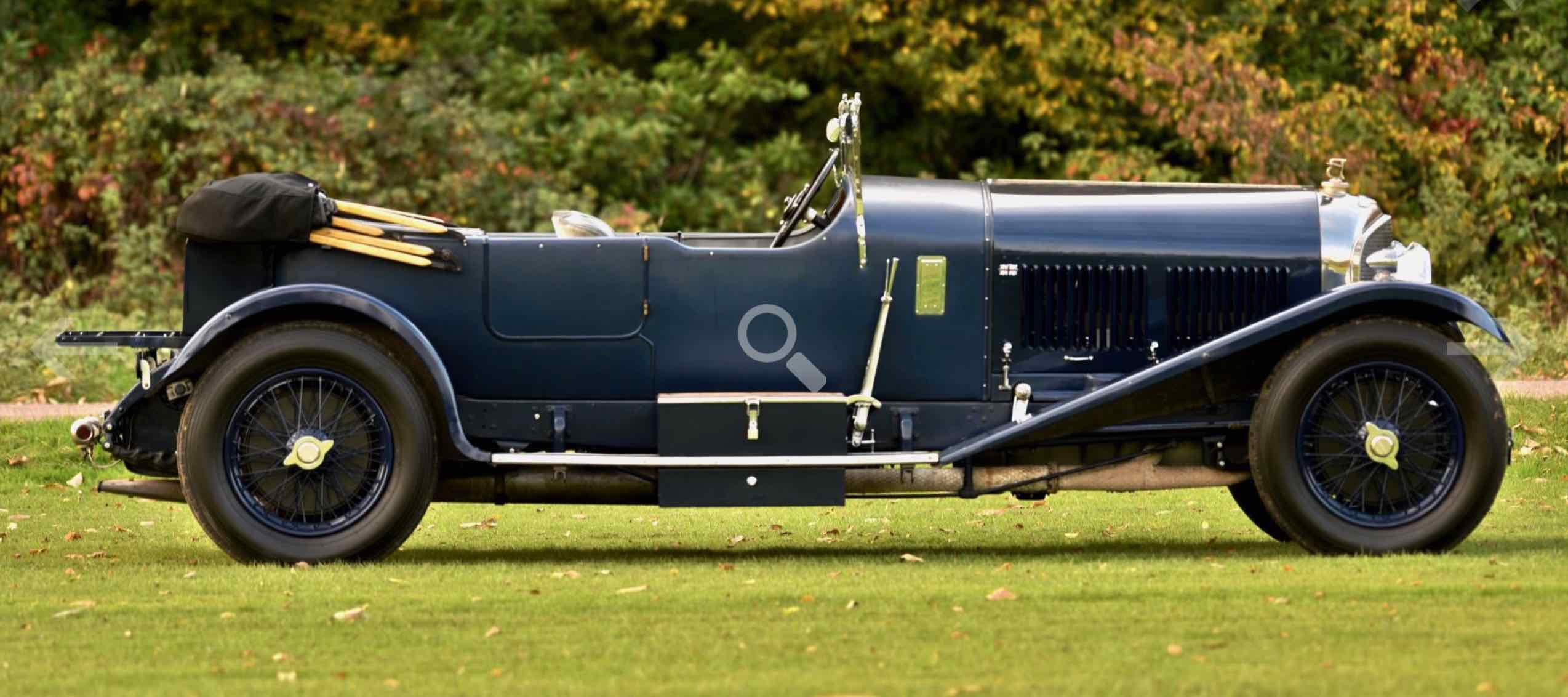 1926 Bentley 6 1/2 Litre Tourer. For Sale (picture 5 of 12)