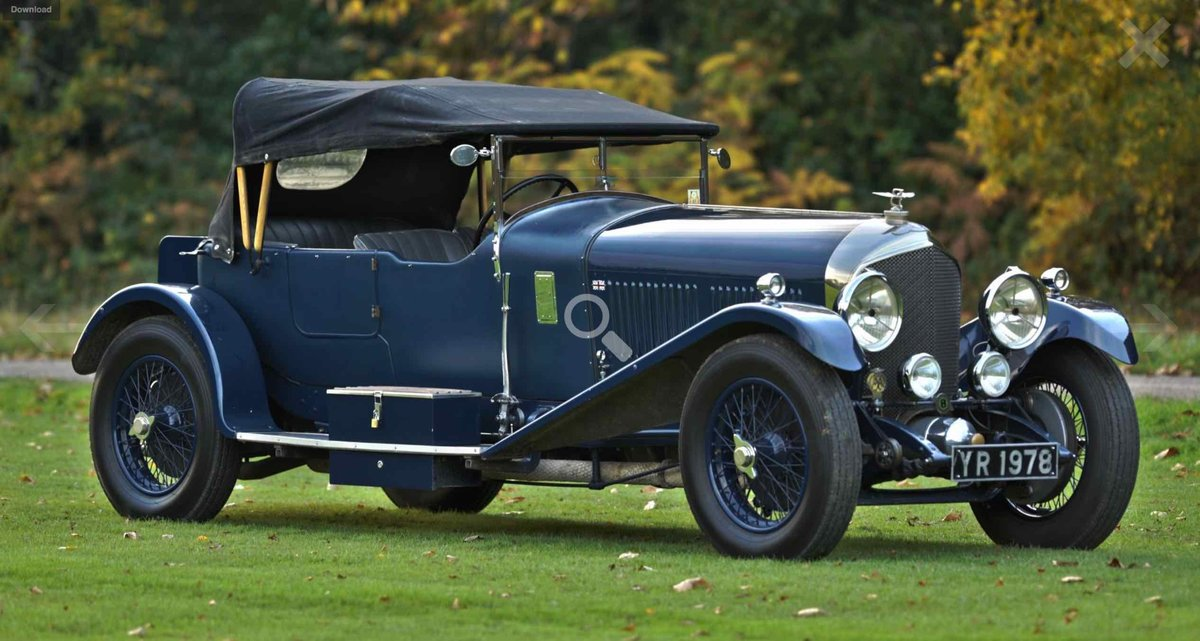 1926 Bentley 6 1/2 Litre Tourer. For Sale (picture 7 of 12)