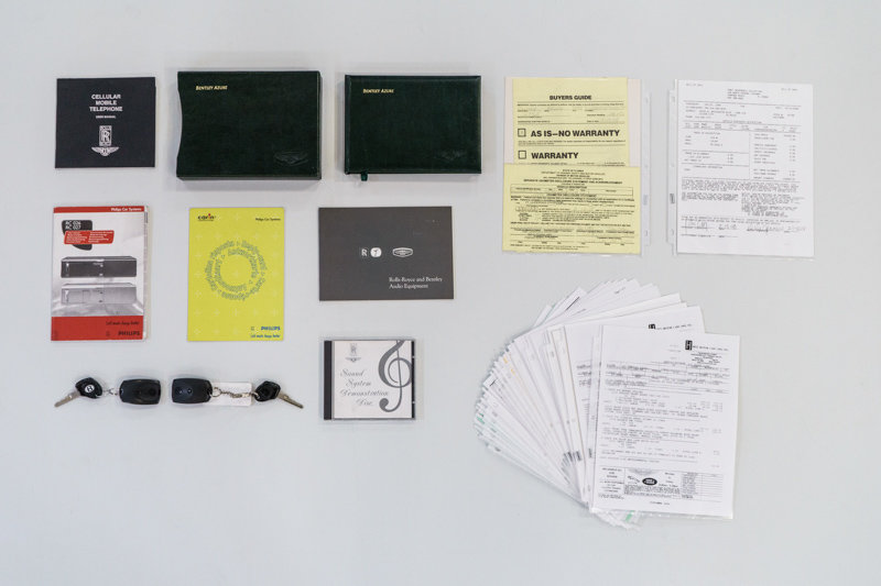 1999 Bentley Azure Convertible For Sale (picture 11 of 12)