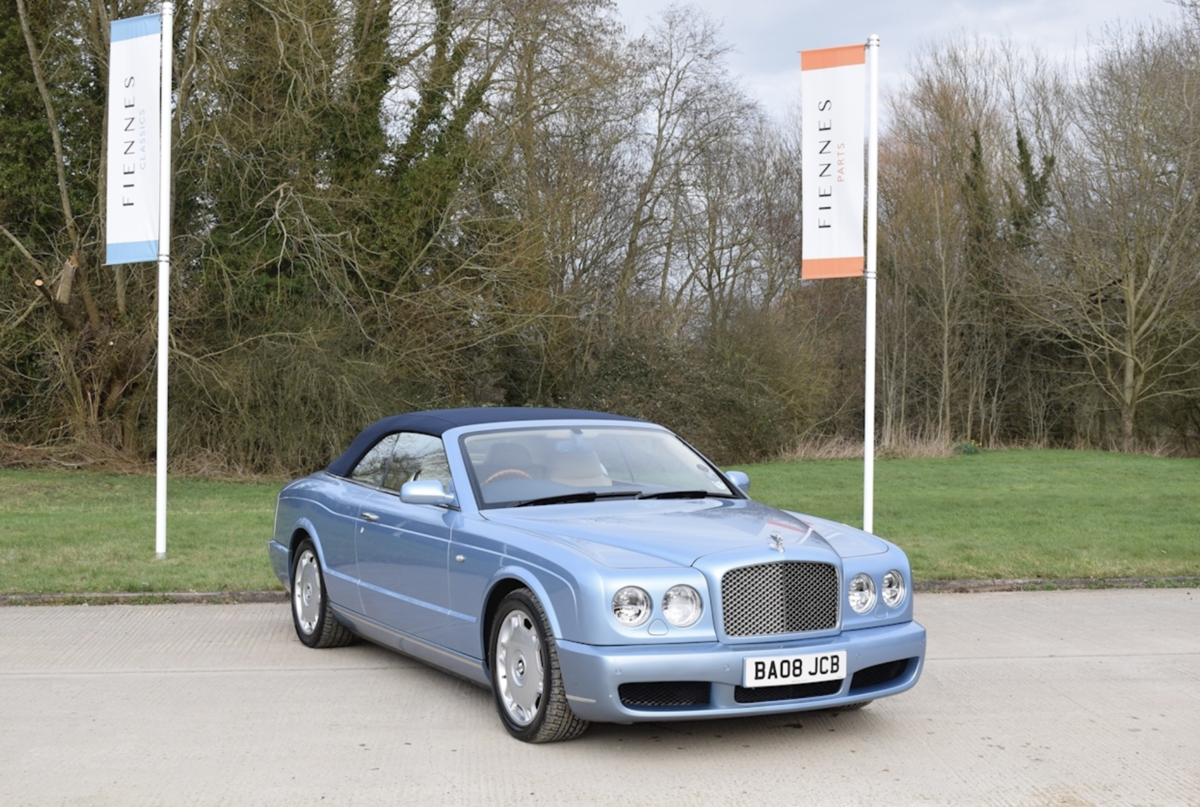 2008 Award-winning Bentley Azure Convertible For Sale (picture 1 of 8)
