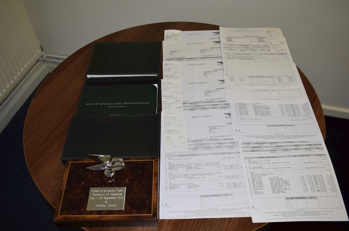2008 Award-winning Bentley Azure Convertible For Sale (picture 8 of 8)