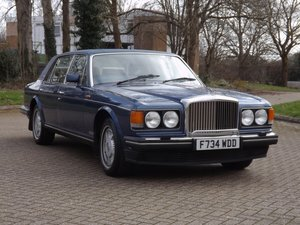Picture of 1989 Bentley Mulsanne S For Sale by Auction
