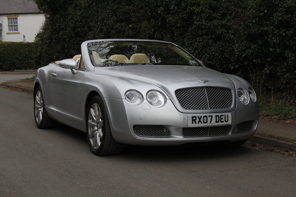 2007 Bentley Continental GTC - 26500 Miles For Sale (picture 1 of 22)