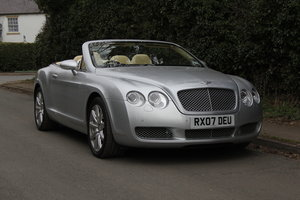 Picture of 2007 Bentley Continental GTC - 26500 Miles For Sale