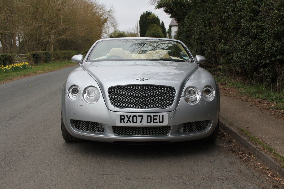 2007 Bentley Continental GTC - 26500 Miles For Sale (picture 2 of 22)