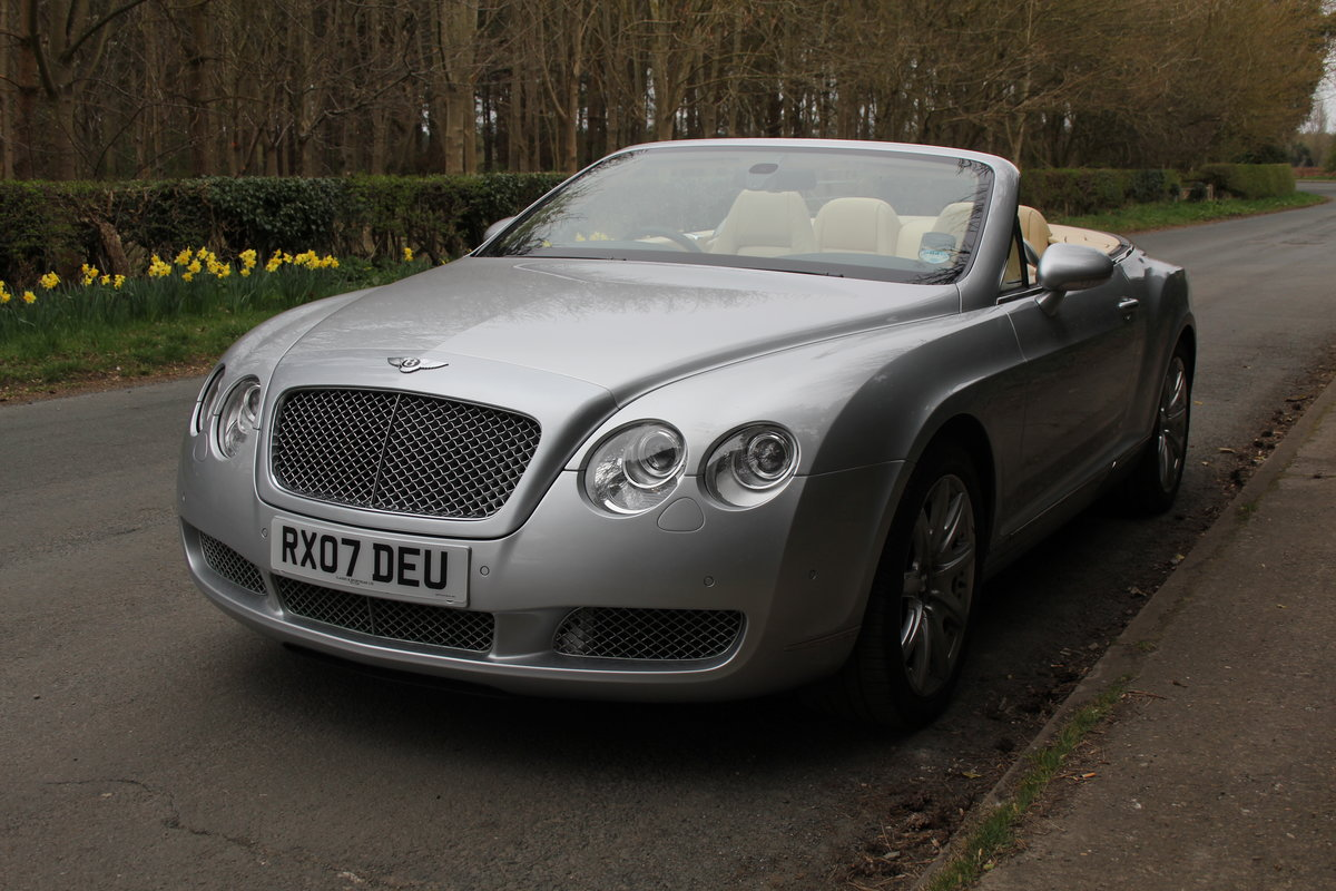 2007 Bentley Continental GTC - 26500 Miles For Sale (picture 3 of 22)