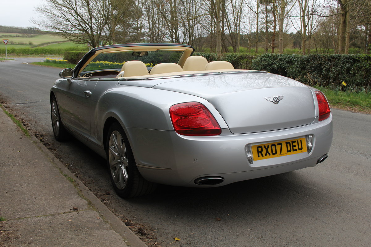2007 Bentley Continental GTC - 26500 Miles For Sale (picture 4 of 22)