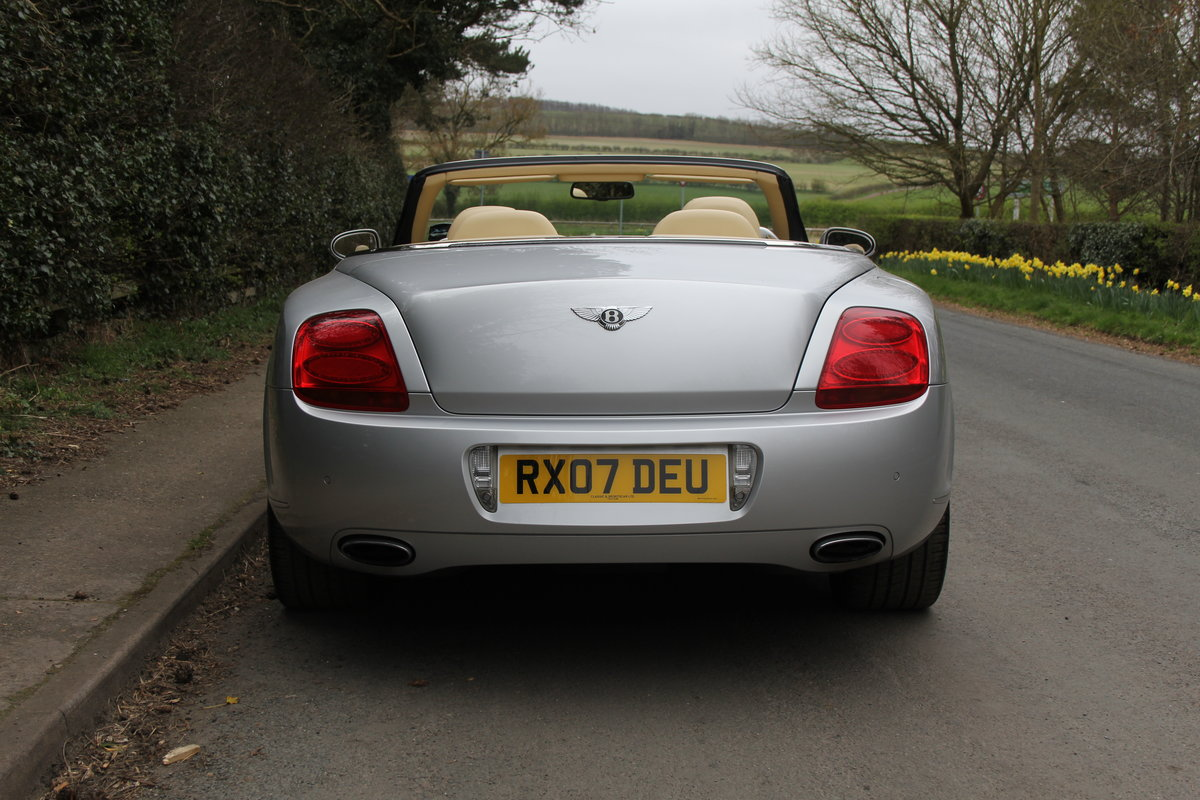 2007 Bentley Continental GTC - 26500 Miles For Sale (picture 5 of 22)
