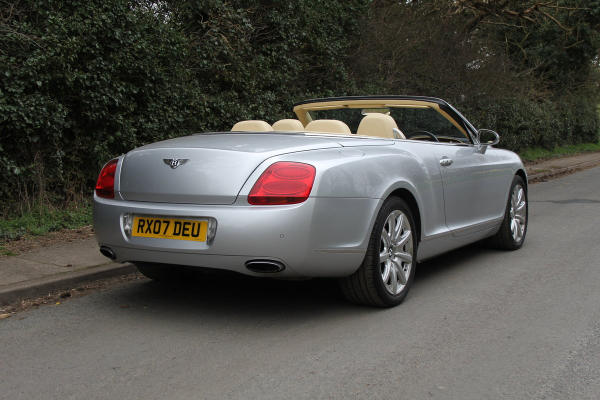 2007 Bentley Continental GTC - 26500 Miles For Sale (picture 6 of 22)