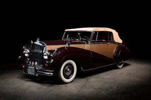 Picture of 1952 Bentley Mark VI 4-Litre Drophead Coup Lot 106 For Sale by Auction