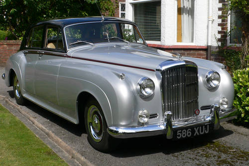 1958 Bentley for Weddings with Chauffeur For Hire (picture 1 of 6)