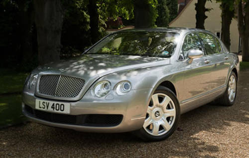 Bentley Continental Flying Spur For Hire (picture 1 of 4)