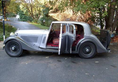 Derby Bentley 1934 For Sale (picture 5 of 6)