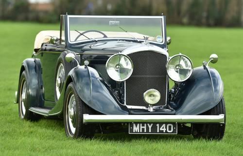 1950 Bentley Mark VI Big Bore Special SOLD (picture 1 of 6)