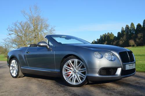 2012 BENTLEY GTC V8 MULLINER 2013 MODEL For Sale (picture 1 of 6)